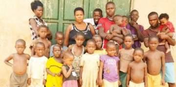 عمرها 40 عاماً ولديها 44 ابناً وابنة.. بالفيديو