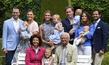 """العائلة الملكية السويدية تحرم بعض أطفالها من مرتبة """"أصحاب السمو الملكي"""""""
