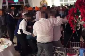 حفل زفاف يتحوّل إلى معركة دموية.. بالفيديو