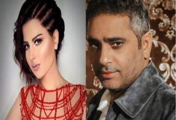 فضل شاكر يهدد شمس الكويتية بالقتل !! بالفيديو