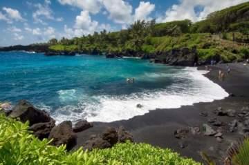 أحجار كريمة تسقط من السماء في هاواي-بالصور