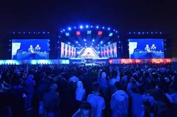 الـDJ ماكو وفرقة The Crystal Method بحفل ناجح في السعودية-بالصور