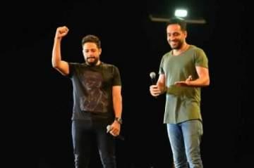 محمد حماقي يوضح حقيقة خلافه مع رامي جمال