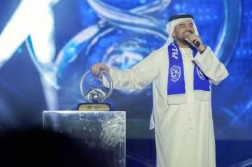 حسين الجسمي يحيي إحتفالية هيئة الترفيه لنادي الهلال-بالصور