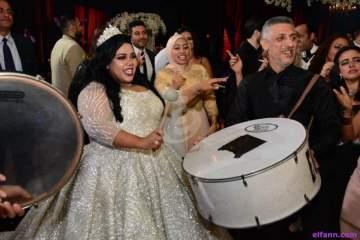 خاص بالصور- شيماء سيف تحتفل بزفافها مع نجوم الفن ومحمد حماقي يشعل الحفل مع دنيا سمير غانم