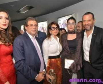 خاص بالصور- خالد يوسف يحتفل بالعرض الخاص لـ