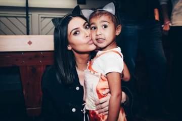 ابنة كيم كارداشيان تتحول الى عارضة ازياء - بالصورة