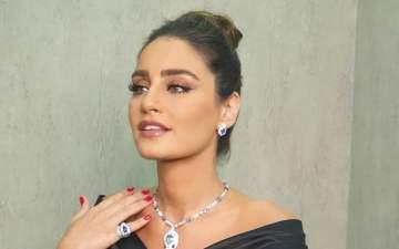 إيميه صياح تعلن حملها بطفلها الأول-بالصورة
