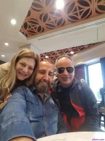 خاص بالصور- وسام الأمير وهلا المر وآشي حدشيتي إلى مصر..وهذا سر الرحلة