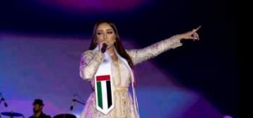 بلقيس وجميلة وفايز السعيد ومحمد الشحي في مهرجان غنائي وطني