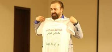 """بسام حاطوم يطلق """"هيدا عرق جبين الناس"""" ويقول :""""من يمتعض من هذه الأغنية يكون هو النصاب"""""""