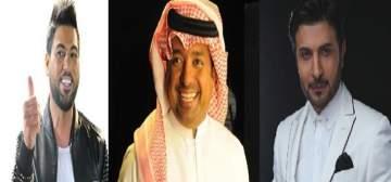 راشد الماجد وماجد المهندس ووليد الشامي .. إبداع ثلاثي الأبعاد