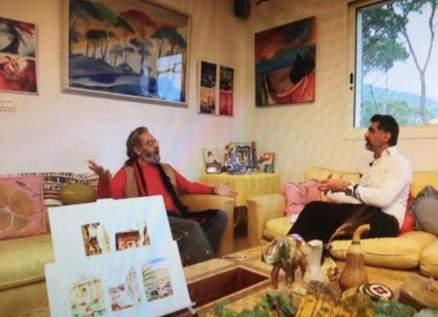 جمال أبو الحسن يتحدث عن ذكرياته وسبب بقائه في لبنان مع جورج معلولي