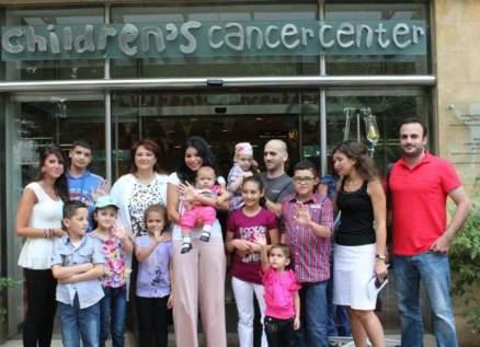 ريما فقيه سفيرة مركز سرطان الأطفال في لبنان