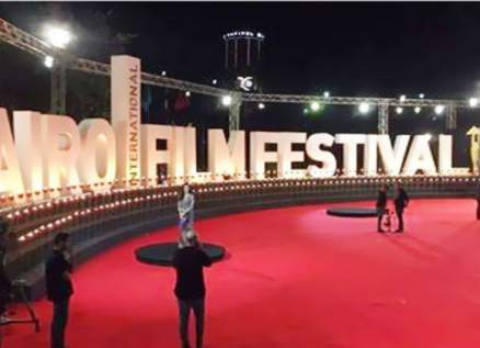 """سجادة حمراء للفيلم المكسيكي """"ترتيب جديد"""" للمخرج ميشيل فرانكو ضمن مهرجان القاهرة"""
