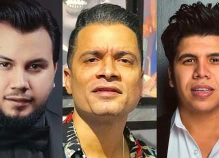 بالفيديو- وديع الشيخ وحسن شاكوش وعمر كمال في أضخم حفل في لبنان