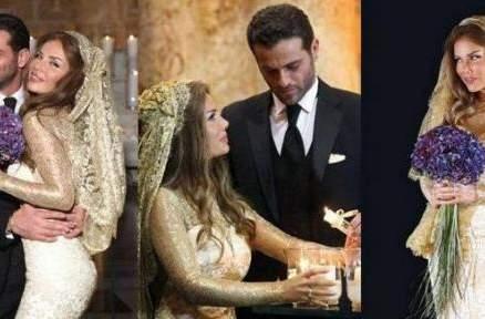 لقطات تنشر لأول مرة من زفاف يوسف الخال ونيكول سابا- بالفيديو