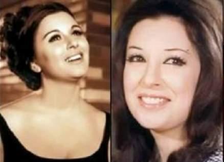 شاهدوا صورة نادرة لـ نجاة الصغيرة مع شقيقتها سعاد حسني
