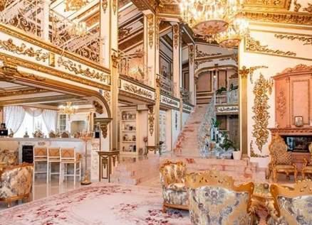 عرض قصر مطلي بالذهب من الداخل للبيع لكن هذه علته- بالصور