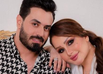 فهد زيد وشهد الشمري يتبادلان الغزل بعد زواجهما-بالصور