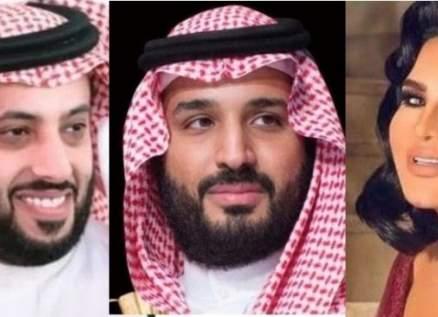 تركي آل الشيخ وأحلام وغيرهما يهنئون محمد بن سلمان بمولوده الجديد-بالصور