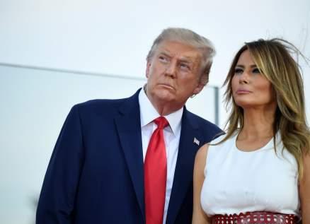 علاقة دونالد ترامب وزوجته ميلانيا تصدم المحامين الموكلين عنهم