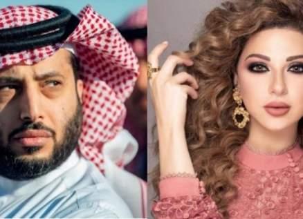 """ميريام فارس تبارك لـ تركي آل الشيخ على """"وشاح الملك عبد العزيز""""-بالصورة"""