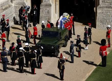 بالفيديو- بريطانيا تودع الامير فيليب في جنازة مهيبة