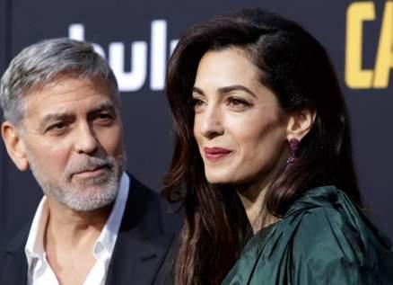 جورج وأمل كلوني يتدخلان لمساعدة لبنان بعد إنفجار مرفأ بيروت