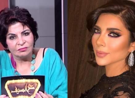 ليلى أحمد تتهم أصالة بتحريض إبنها خالد الذهبي على طليقها طارق العريان-بالصورة