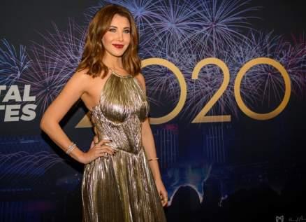 نانسي عجرم وتامر حسني إستقبلا العام الجديد معاً-بالصور