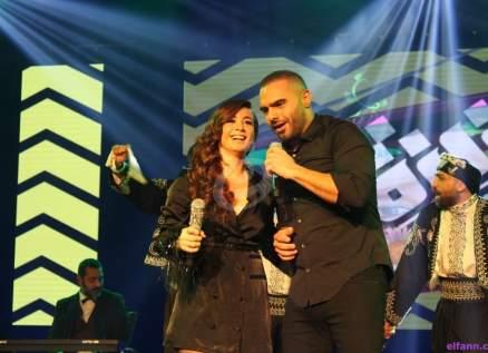 عزيزة تغني مع جوزيف عطية وتكشف عن عشقها لمروان خوري وكارول سماحة وهبة طوجي