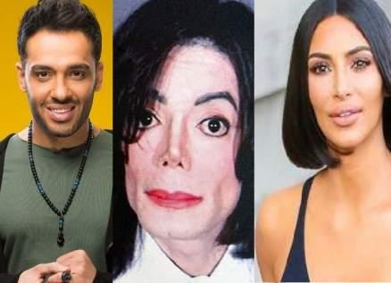 """كيم كارداشيان ومايكل جاكسون ورامي جمال أُصيبوا بـ""""البهاق"""".. وتتويج ملكة جمال للمرض"""