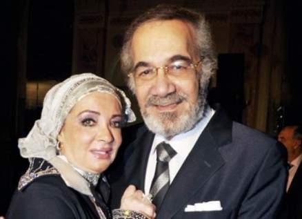 شهيرة تودّع محمود ياسين برسالة مؤثرة جديدة-بالصورة