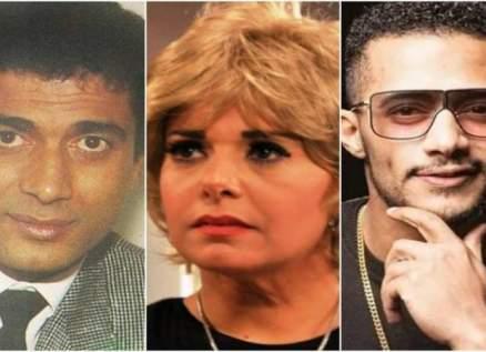 """صابرين :""""محمد رمضان فنان عظيم يصلح لتجسيد شخصية أحمد زكي ولكن""""!!-بالفيديو"""