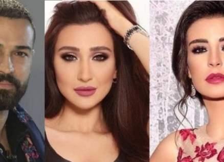وسام حنا وماغي بو غصن يواسيان جيسي عبدو بوفاة والدها-بالصور