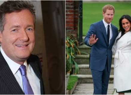 بيرس مورغان يهاجم الأمير هاري وميغان ماركل مجدداً