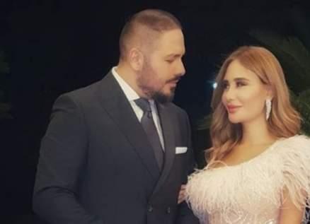 رامي عياش بلقطة رومانسية مع زوجته داليدا – بالصورة