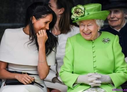 ميغان ماركل تتحدى الملكة إليزابيث!!