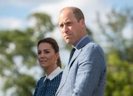 كيت ميدلتون والأمير ويليام بصورة عفوية بعيدة عن البروتوكول الملكي
