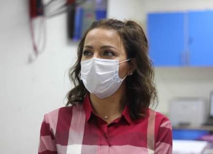 سوزان نجم الدين تزور مريضات سرطان الثدي وتدعمهن نفسياً- بالصور
