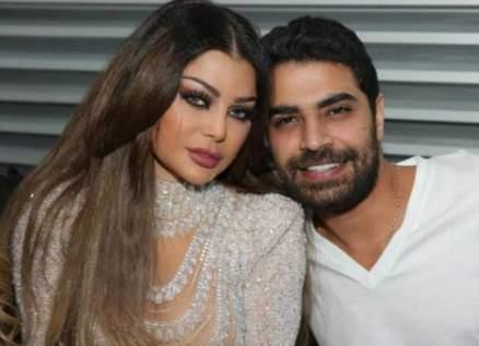 هيفا وهبي تردّ على كلام محمد وزيري الأخير بكلمة واحدة ووجه مُضحك-بالصورة