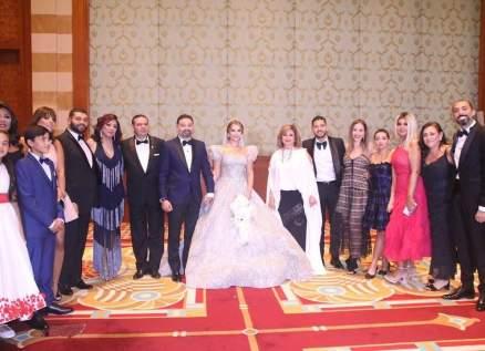 أمير شاهين يحتفل بزفافه بحضور محمد منير ويسرا ومنة شلبي وليلى علوي وغيرهم-بالصور
