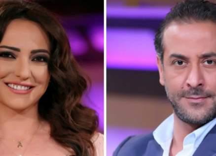 أمل عرفة تكشف هذه المفاجأة عن طلاقها من عبد المنعم عمايري