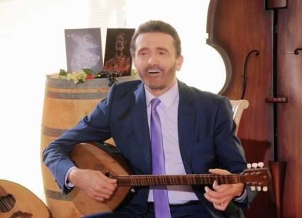 سعد حمدان ينتهي من تصوير أغنية طربية شعبية- بالصور