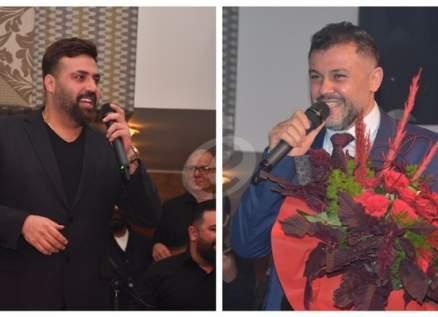 خاص بالصور-ربيع الأسمر وربيع الجميّل يشعلان الأجواء في حفل عيد الحب