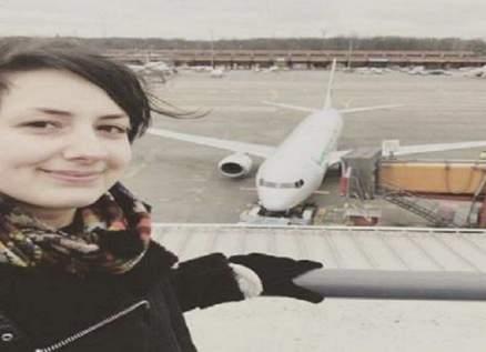 ألمانية تخطط للزواج بطائرة بعد علاقة حب طويلة