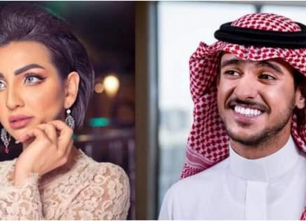 عايض يوسف يوضح حقيقة إنفصاله عن هبة حسين