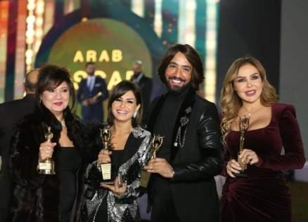 """سميحة أيوب وعاصي الحلاني ورولا سعد وغيرهم مكرمون في """"أوسكار العرب""""-بالصور"""