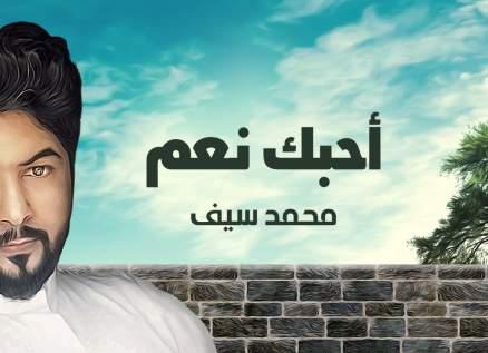 """محمد سيف لحبيبته: """"أحبك نعم"""" - بالفيديو"""